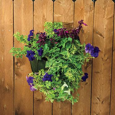 Grow Tub<sup>®</sup> Wall Flower Bag