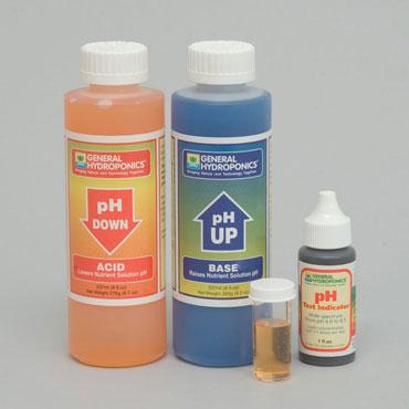 pH Tester & Hydroponic Gardening Maintenance Kit