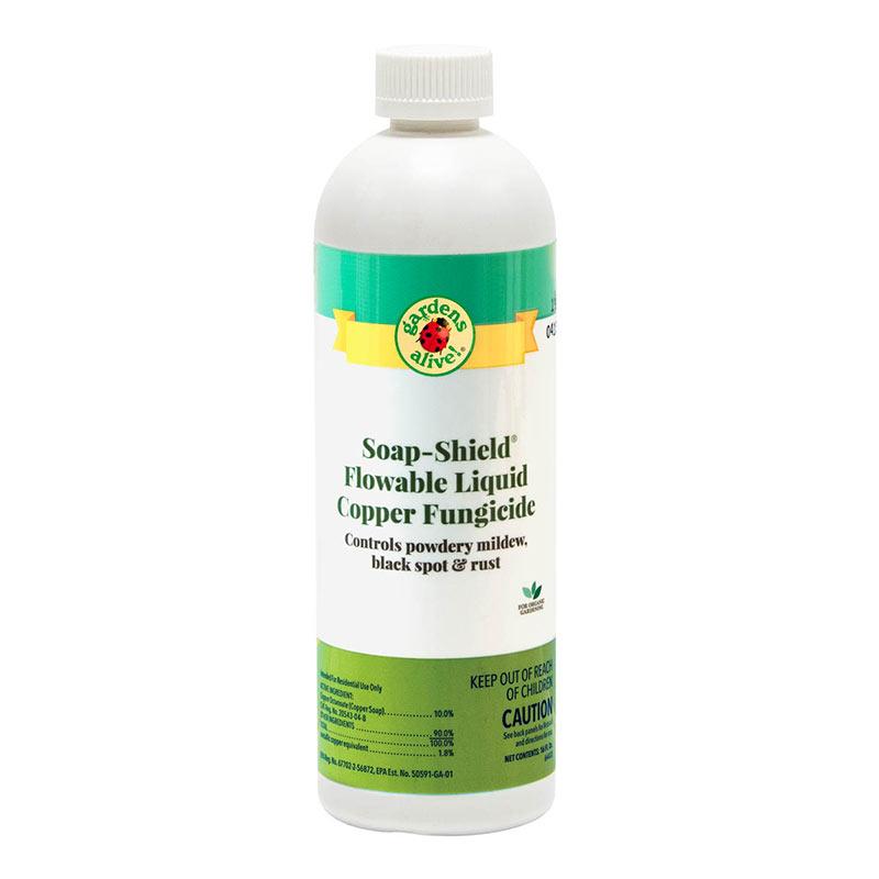 Soap-Shield Flowable Liquid Copper Fungicide - Gardens Alive!