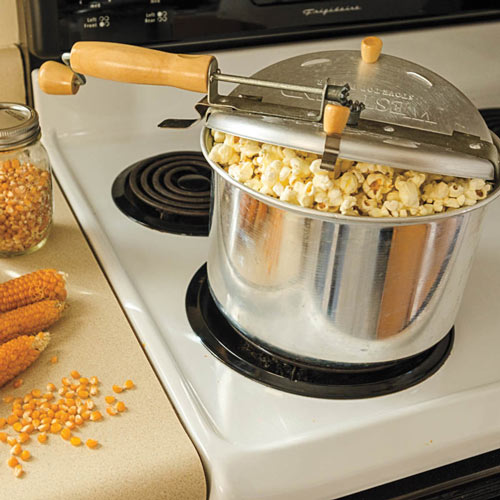 Pops the Lid Off Hybrid Popcorn Seed