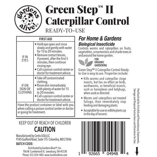 Green Step™ II Caterpillar Control
