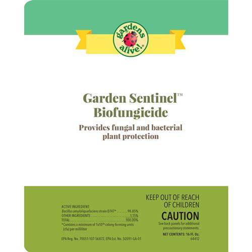 Garden Sentinel™ Organic Broad-Spectrum Biofungicide