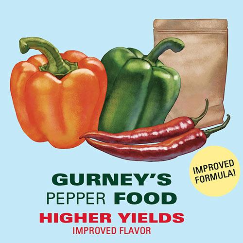 Gurney's<sup>®</sup> Pepper Food - Fertilizer