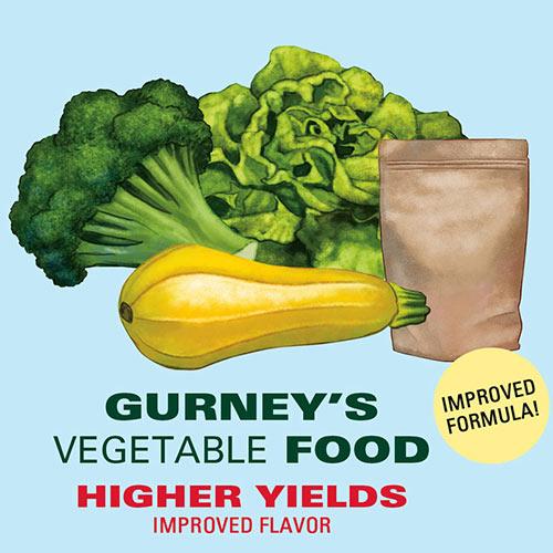 Gurney's<sup>®</sup> Vegetable Food - Fertilizer