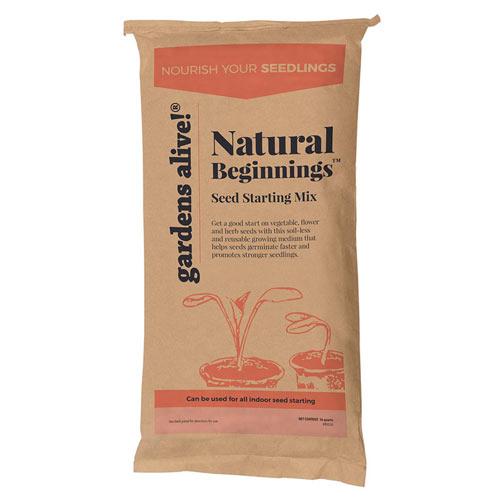 Natural Beginnings <sup>™</sup> Seed Starting Mix