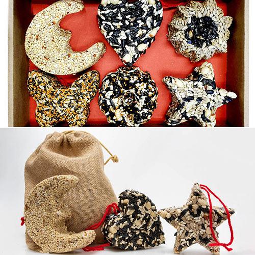 Birdseed Garland & Ornaments