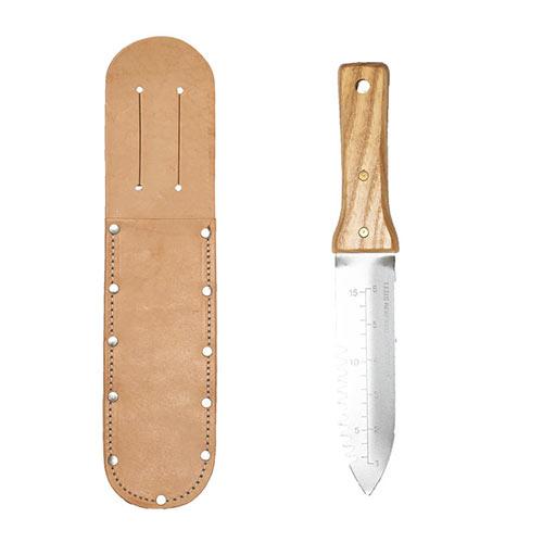 Preferred Hori Hori Knife and Leather Sheath