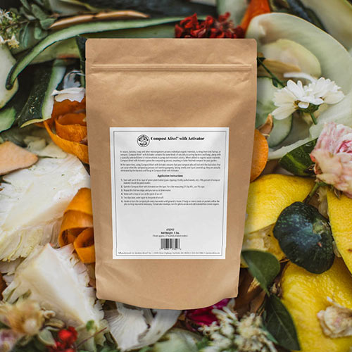 Compost Alive!<sup>®</sup> Activator with Quick-Start™ for Dry Plant Matter