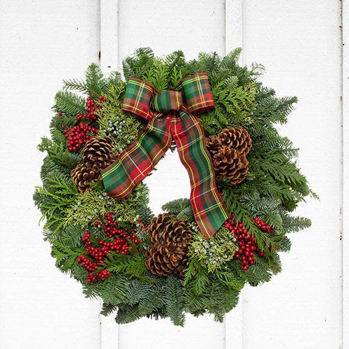 Fresh Noble Fir Wreaths