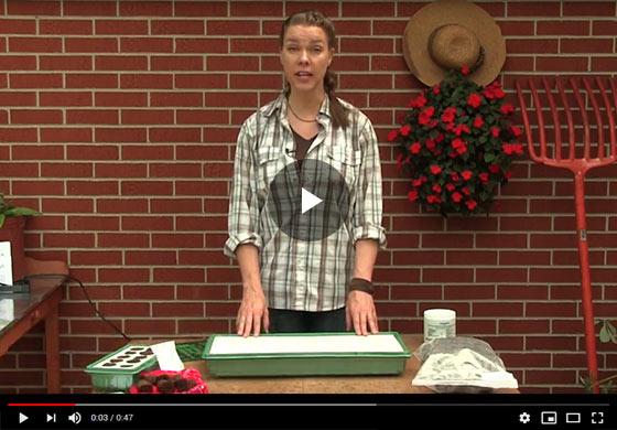 Gurney's Seed Starting Kit Instructional Video