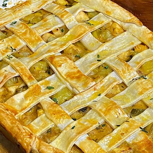 Pixie Crunch<sup>®</sup> Apple, Potato, Leek Pie