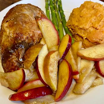 Crunch-A-Bunch<sup>™</sup> Apple and Pear Sauté
