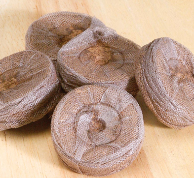 Compressed Peat Pellets