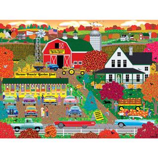 Autumn Harvest 300 Large Piece Jigsaw Puzzle