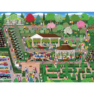 Flower Show 500 Piece Jigsaw Puzzle