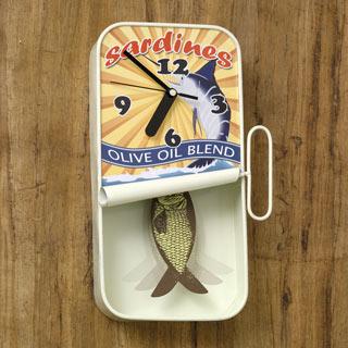 Sardine Clock