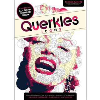 Querkles Icons Color by Number Book