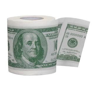 Money Roll Toilet Paper