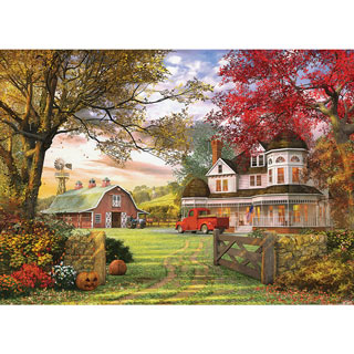 Old Pumpkin Farm 300 Large Piece Jigsaw Puzzle
