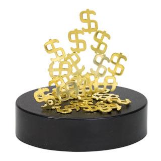 Dollars Magnetic Sculpture