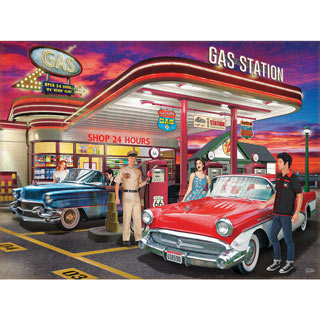 Remember Those Days 300 Large Piece Jigsaw Puzzle