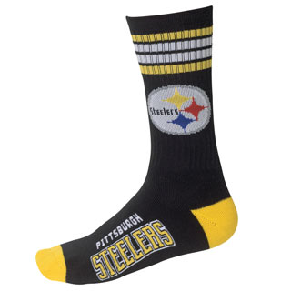 Steelers NFL Team Socks
