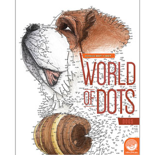 World of Dots Book-Dogs