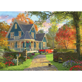 Blue Home 300 Large Piece Jigsaw Puzzle