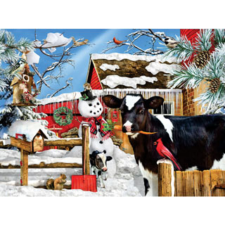 The Carrot Thief 300 Large Piece Jigsaw Puzzle