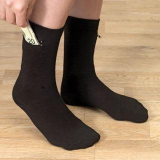 Set of 2 Pairs: Hideaway Socks