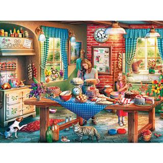 Baking Bread 550 Piece Jigsaw Puzzle