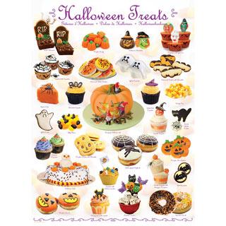 Halloween Treats 1000 Piece Jigsaw Puzzle