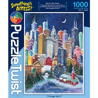 Chicago Spirit 1000 Piece Jigsaw Puzzle