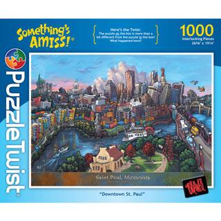 Downtown St. Paul 1000 Piece Jigsaw Puzzle