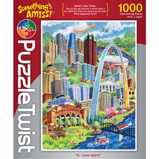 St. Louis Spirit 1000 Piece Jigsaw Puzzle
