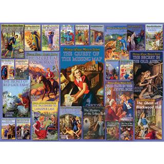 Vintage Nancy Drew Mystery 1000 Piece Jigsaw Puzzle
