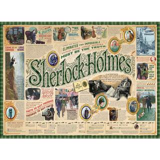Sherlock Mystery 1000 Piece Jigsaw Puzzle