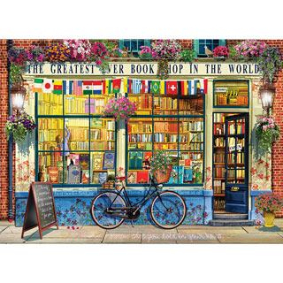 The Greatest Bookstore in the World 1000 Piece Jigsaw Puzzle
