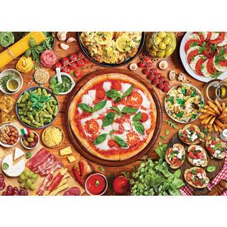Italian Table 1000 Piece Jigsaw Puzzle