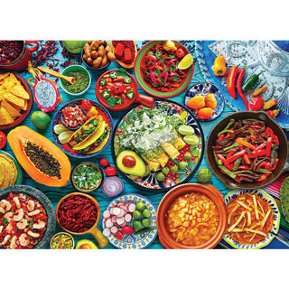 Mexican Table 1000 Piece Jigsaw Puzzle