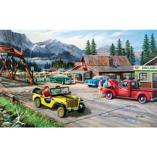 Alaskan Road Trip 300 Large Piece Jigsaw Puzzle