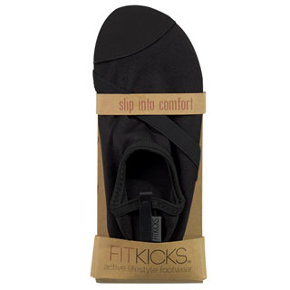 Fit Kicks Black Shoes