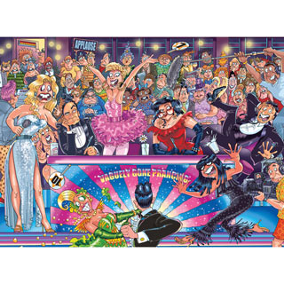 Strictly Can't Dance! 1000 piece Wasgij Puzzle