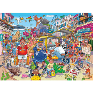 Holiday Fiasco! 1000 Piece Jigsaw Puzzle
