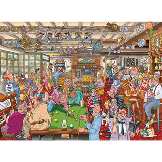 The Puzzler's Arms! 1000 Piece Wasgij Puzzle