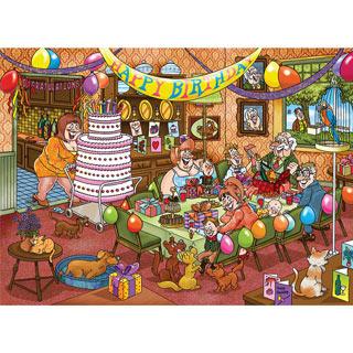 Birthday Surprise! 1000 Piece Wasgij Puzzle