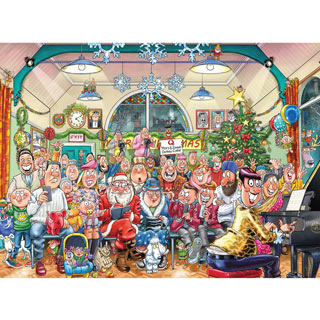 The Christmas Show! 1000 Piece Jigsaw Puzzle