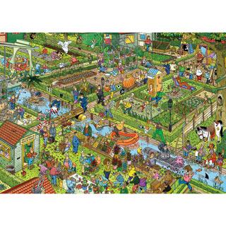 The Vegetable Garden 1000 Piece Jigsaw Puzzle