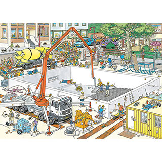 Almost Ready? 1000 Piece Jigsaw Puzzle