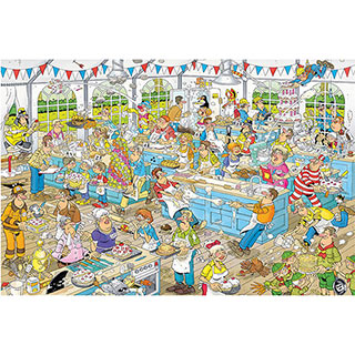The Clash Of The Bakers 1500 Piece Jigsaw Puzzle